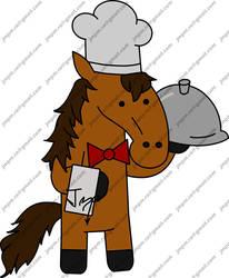 Horse Cook by Ukabilak
