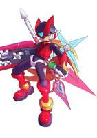 Megaman Zero by sjonne305
