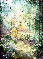 Hansel and Gretel by mairimart