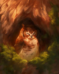 Tree Nest by CorvusHound