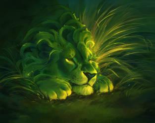 Thorn Lion by CorvusHound