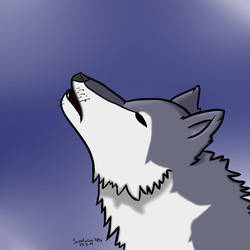 Howling Wolf by Scootaloo7896