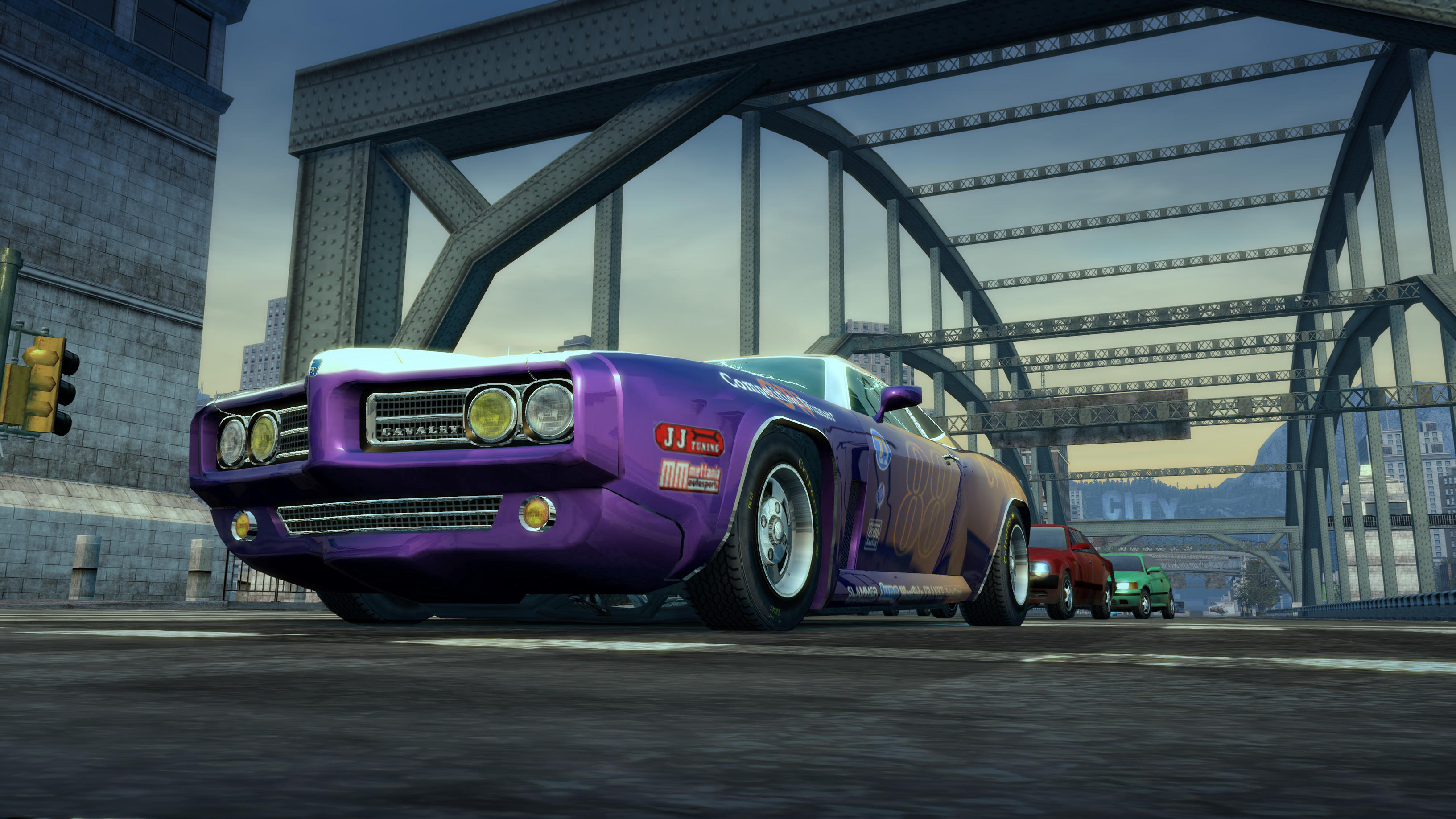 Burnout Paradise Muscle Car Purple By Rosestarlightglimmer On Deviantart
