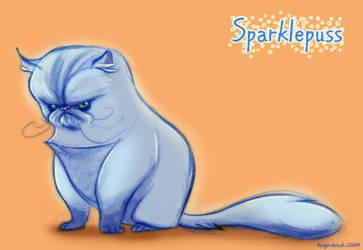Sparklepuss by kayjkay