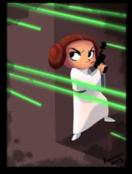 Princess Leia by kayjkay
