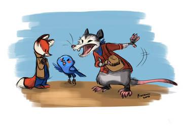 Possum by kayjkay
