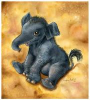 Kedar the Elephant by arbital
