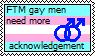 FTM gay men by LovesAsleep