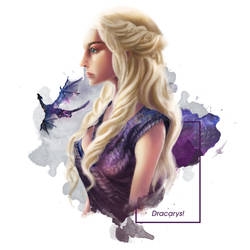 Daenerys MOTHER OF DRAGON by sendinobot