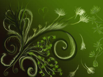 Abstract Garden by Isidora