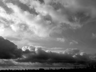 Gray Sky by Isidora