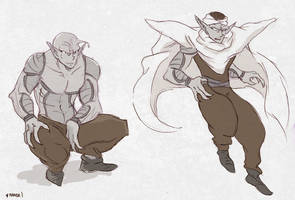 Piccolo Sketch by nanda16