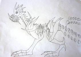 Dion's Demon - Fenrir by jamysketches
