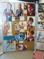 My Art Exhibition - Board 1 by jamysketches