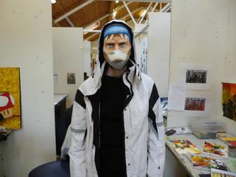 Pestilence Mask and Model #2 by jamysketches