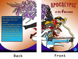 Comic Front + Back Cover by jamysketches