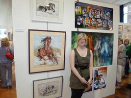 My Foundation Degree Exhibition by jamysketches