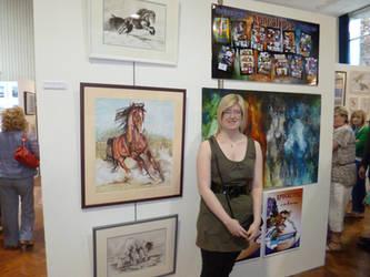 My Foundation Degree Exhibition by jamysketches