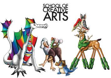 School of Creative Arts by jamysketches