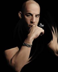 Vin Diesel 2016 Portrait Art - TheRagedlion by TheRagedlion
