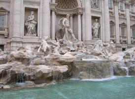 Rome- Fontana di Trevi by shadow-inferno