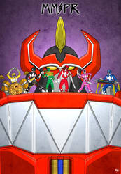 MMPR by bryesque
