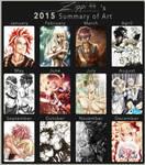 Art Summary 2015 by zippi44