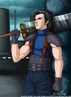 Final Fantasy VII- Zack Fair by syren007