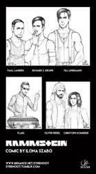 Rammstein members by syren007
