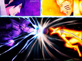 Naruto Manga 695 The final battle by ChekoAguilar