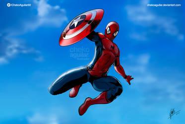 Spiderman Civil War by ChekoAguilar