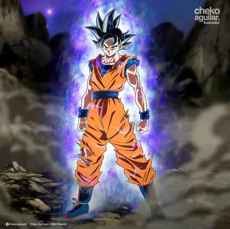 Goku Ultra Instinct (Toyotaro's version) by ChekoAguilar