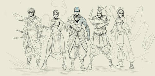 Og Team Avatar Full Wip 2 by Sketchydeez