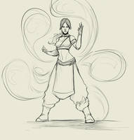 Katara.revision by Sketchydeez
