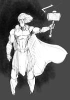 Thor by Sketchydeez