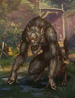 Werewolf by PavelTomashevskiy