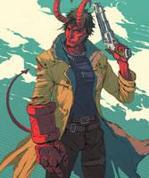 hellboy fanart by PavelTomashevskiy