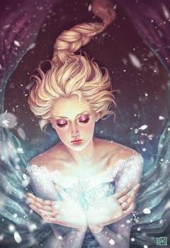 Frozen ~ Elsa by serafleur