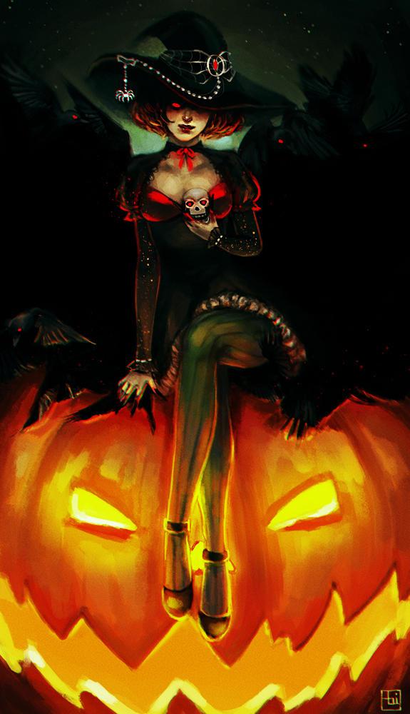 Happy Halloween! by serafleur
