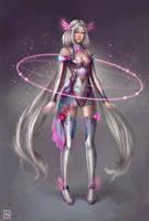 Kagami Sci-Fi Character Concept by serafleur