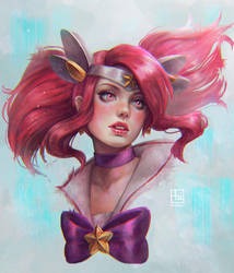 Star Guardian Lux by serafleur