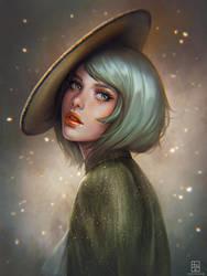 Rika [Commission] by serafleur