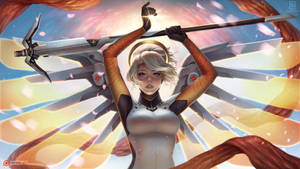 Mercy [with Speed Paint Video] by serafleur