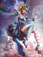 Rewritten Artbook: Alice in Crystal Wonderland by serafleur