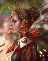 Rewritten Artbook: Queen of Hearts by serafleur