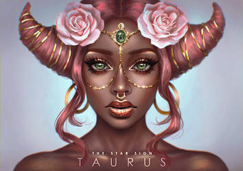 The Star Sign - Taurus by serafleur