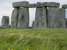 Close up on Stonehenge by KailaDarling