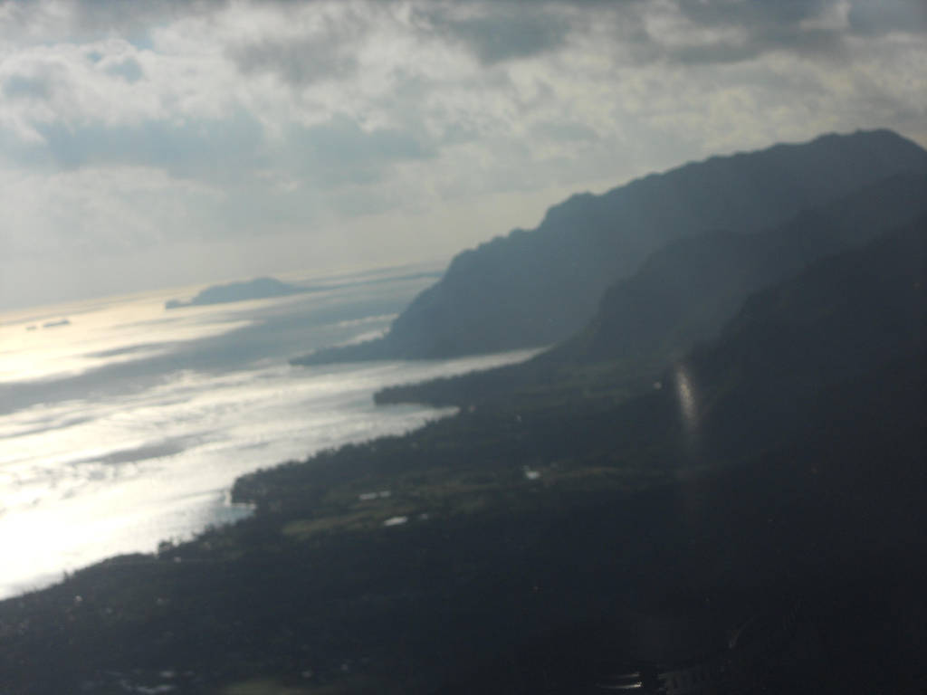 Hawaii from above by KailaDarling