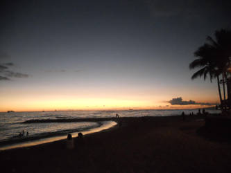 Hawaiian sunset by KailaDarling
