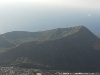 Diamond Head Crater in Hawaii by KailaDarling